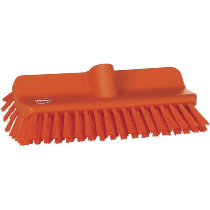 Vikan, Hoekschrobber hard, 265x100x150mm, oranje