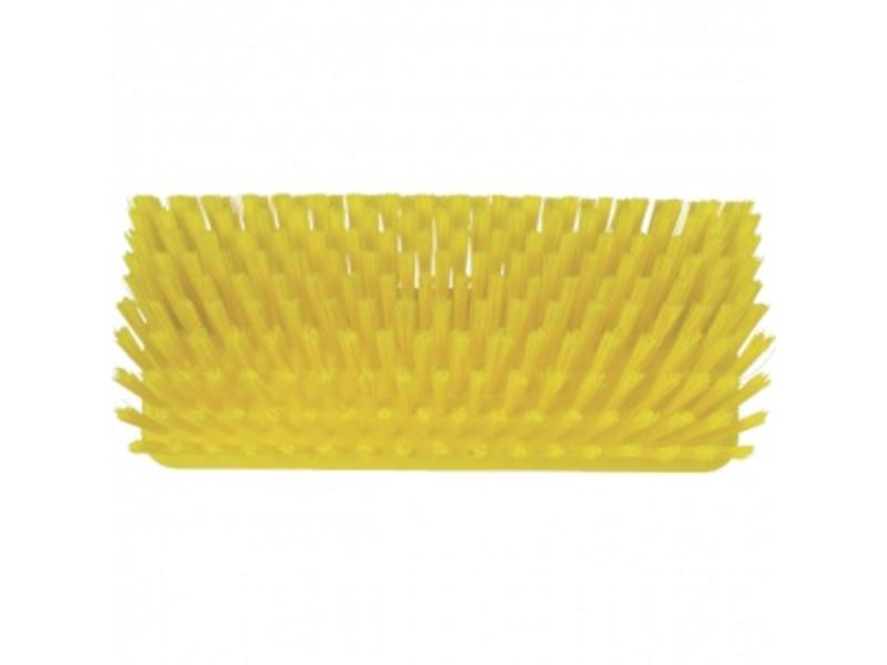 Vikan Vikan, Hoekschrobber hard, 265x100x150mm, geel