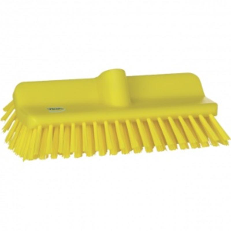 Vikan, Hoekschrobber hard, 265x100x150mm, geel