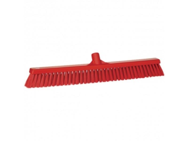 Vikan Vikan, Combi-veger breed,polyester vezels, 610x125x70mm, rood