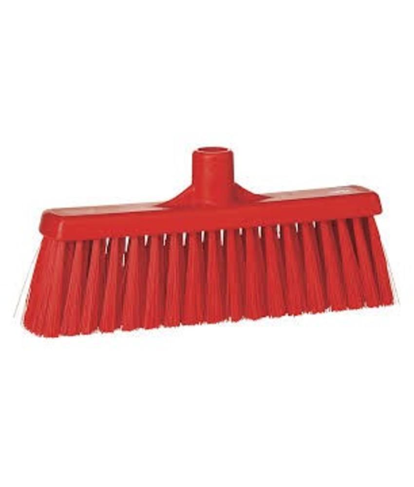 Vikan, Rechte veger, medium, 310x140x60mm, rood