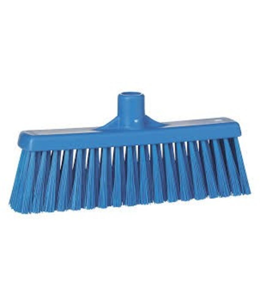 Vikan, Rechte veger, medium, 310x140x60mm, blauw