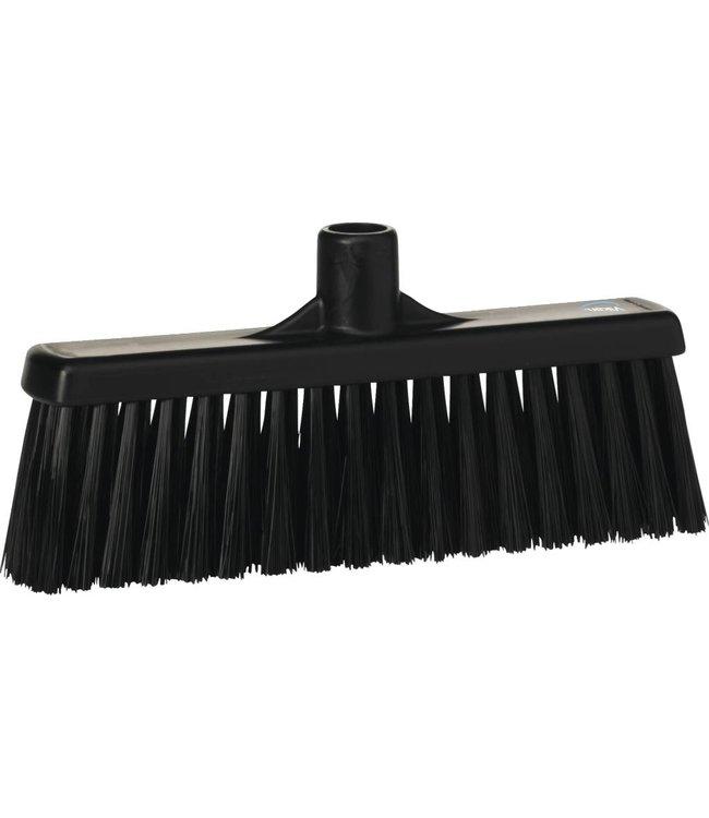 Vikan Vikan, Rechte veger, medium, 310x140x60mm, zwart