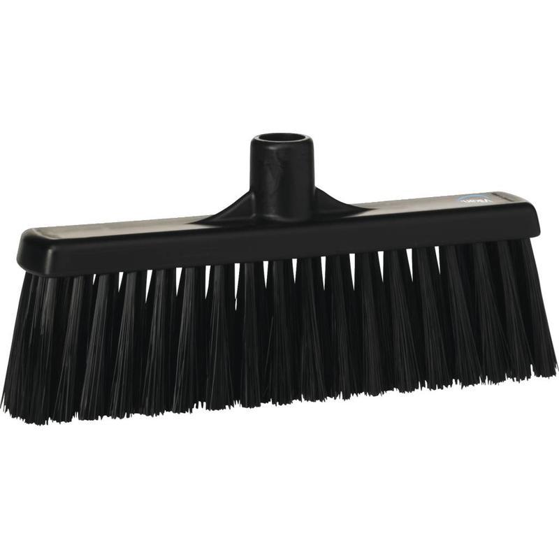 Vikan, Rechte veger, medium, 310x140x60mm, zwart