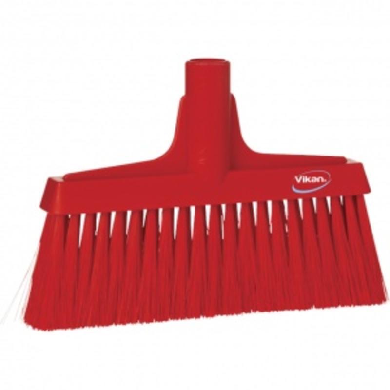 Vikan, Portaalveger, zacht, polyester vezels, zacht, 260x175x35mm, rood