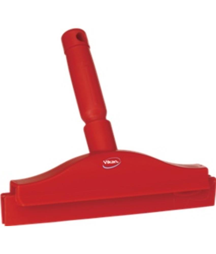 Vikan, Full colour hygiëne handtrekker, vaste nek 250x230x45mm, rood