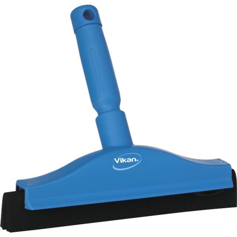 Vikan, Klassieke handtrekker, vaste nek, polypropyleen, 250x230x45mm, blauw