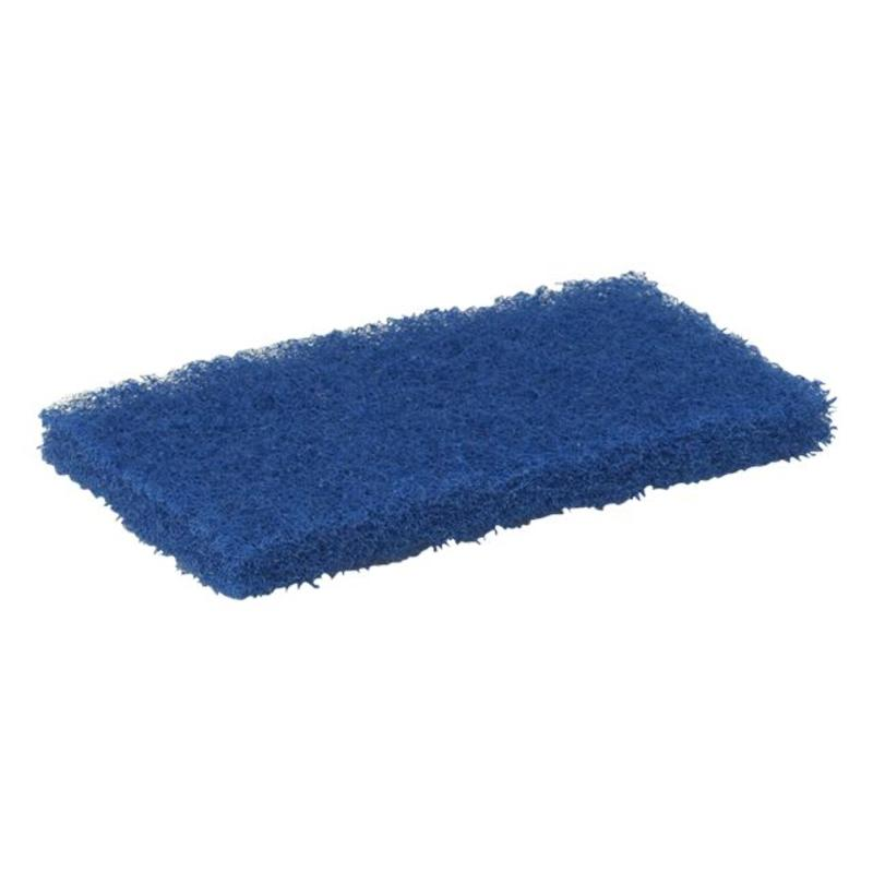 Vikan Schuurpad, medium 245x125x30mm, blauw