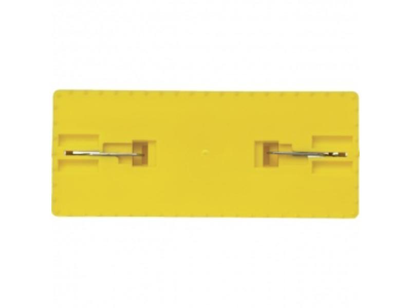 Vikan Vikan Padhouder, steelmodel, 235x100x75mm, geel