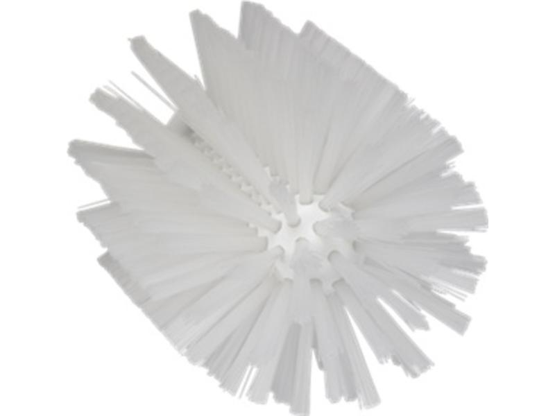 Vikan Vikan Pijpborstel, steelmodel, ø103 mm, medium, wit