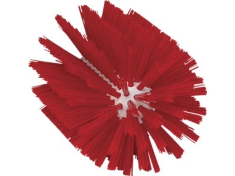 Vikan Vikan Pijpborstel, steelmodel, ø103 mm, medium, rood
