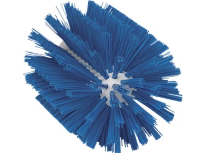 Vikan Vikan Pijpborstel, steelmodel, ø103 mm, medium, blauw