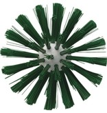 Vikan Vikan Pijpborstel, steelmodel, ø103 mm, medium, groen