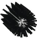 Vikan Vikan Pijpborstel, steelmodel, ø90 mm, medium, zwart