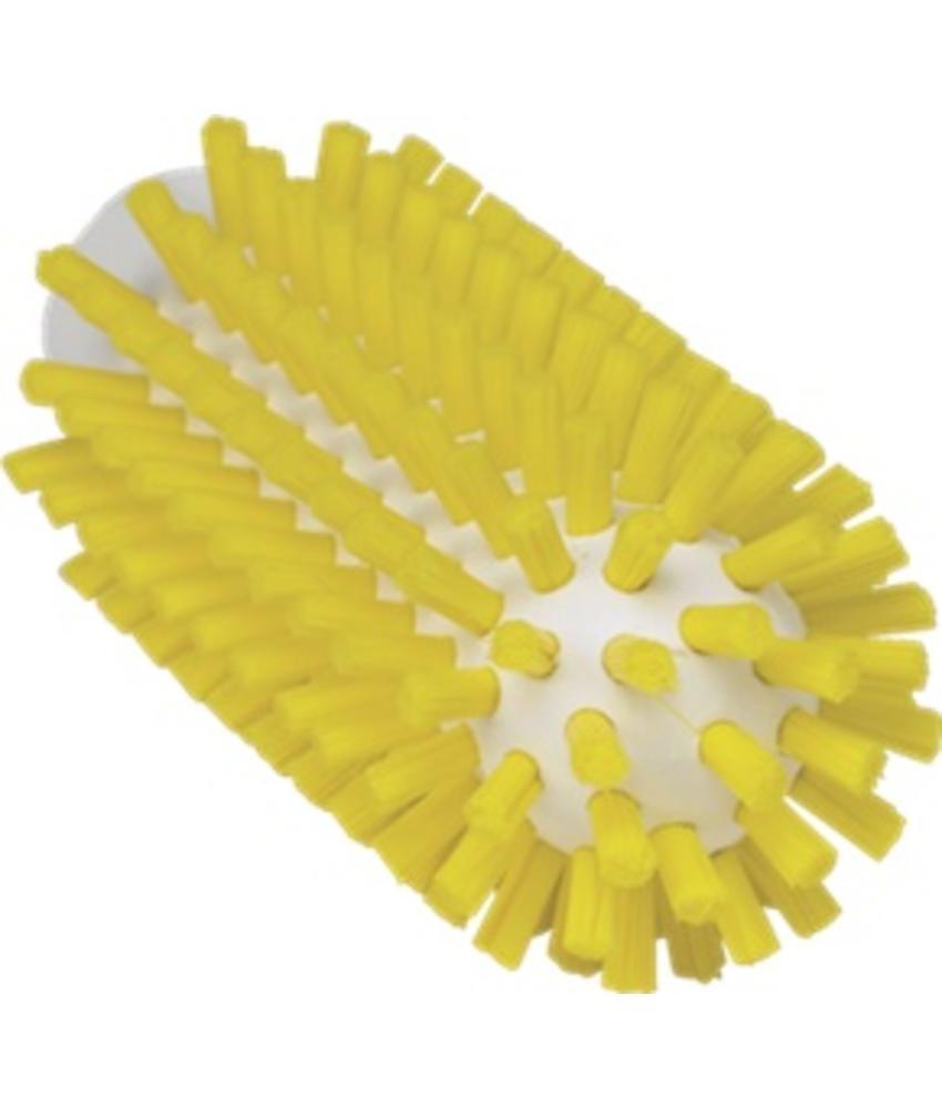 Vikan Pijpborstel, steelmodel, ø50 mm, hard, geel