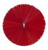 Vikan Vikan Pijpenborstel met handvat, 60 mm, medium, rood