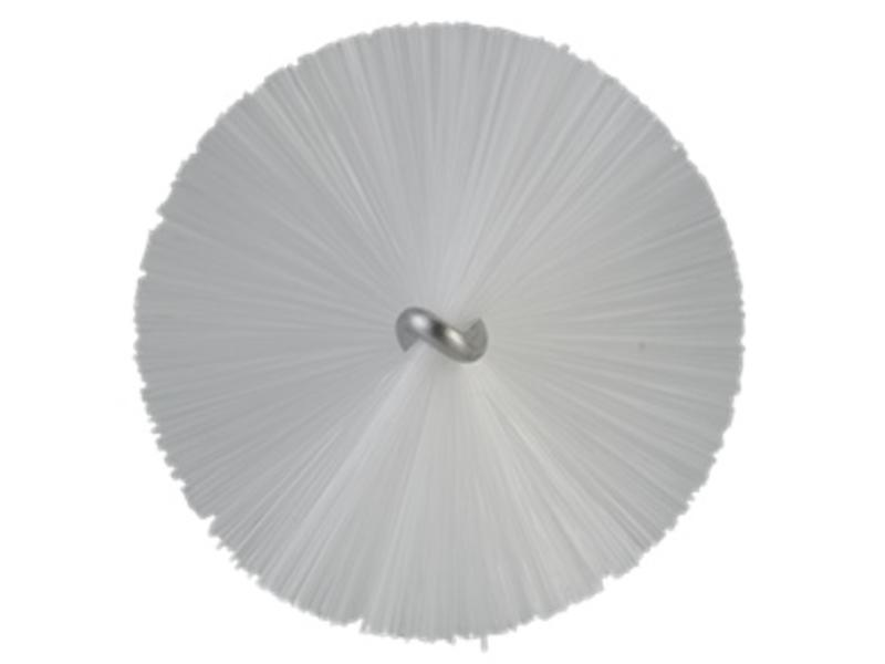 Vikan Vikan Pijpenborstel met handvat, 40 mm, medium, wit