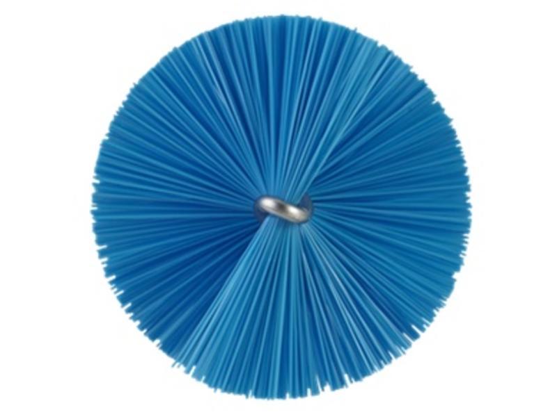 Vikan Vikan Pijpenborstel met handvat, 40 mm, medium, blauw