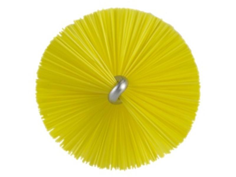 Vikan Vikan Pijpenborstel met handvat, 40 mm, hard, geel
