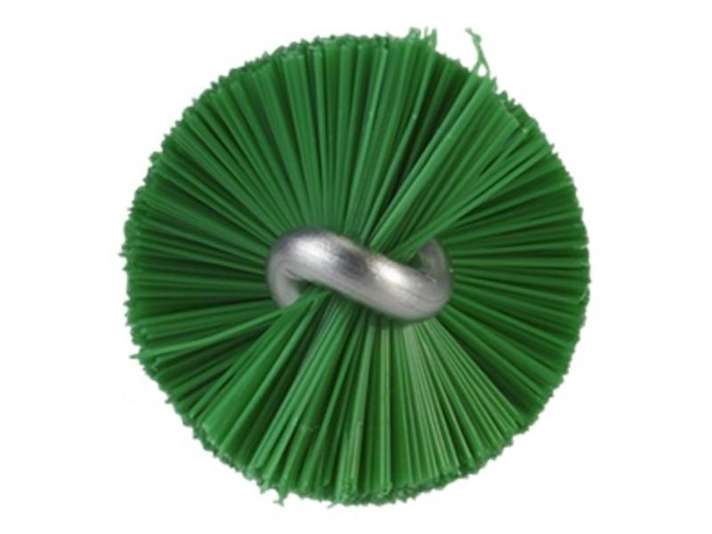 Vikan Vikan Pijpenborstel met handvat, 20 mm, medium, groen