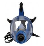 Eigen merk Spasciani TR 2002 CL 2 blauw TPE volgelaatsmasker