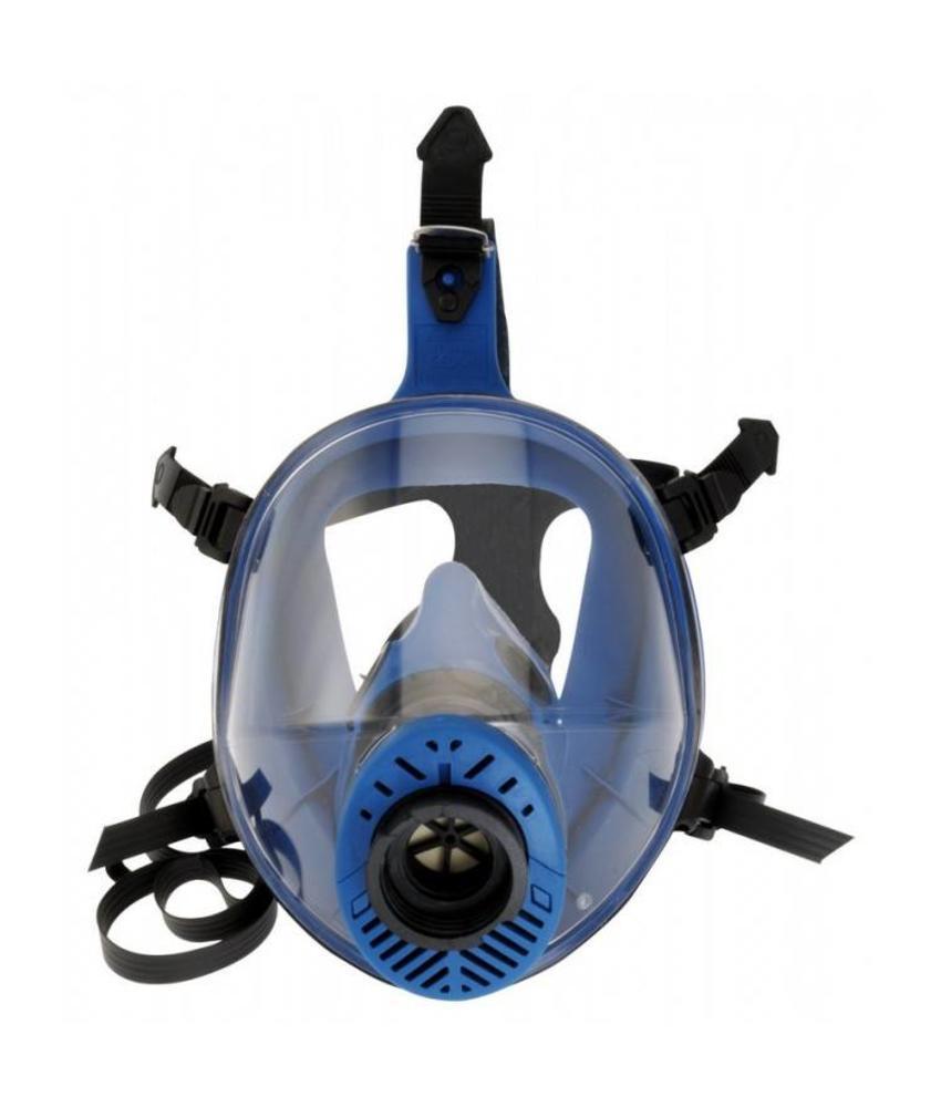 Spasciani TR 2002 CL 2 blauw TPE volgelaatsmasker