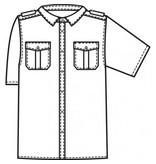 Greiff Pilotoverhemd 6603
