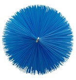 Vikan Vikan Pijpenborstel Ø90x200mm, Medium, blauw