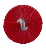 Vikan Vikan Pijpenborstel Ø20x200mm, Medium, rood