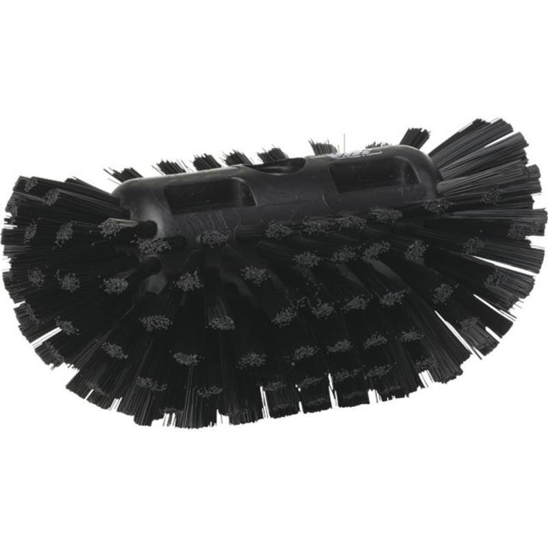 Vikan, Harde tankborstel, 205x130x100mm, zwart