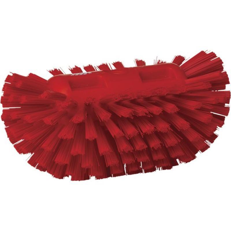 Vikan, Harde tankborstel, 205x130x100mm, rood