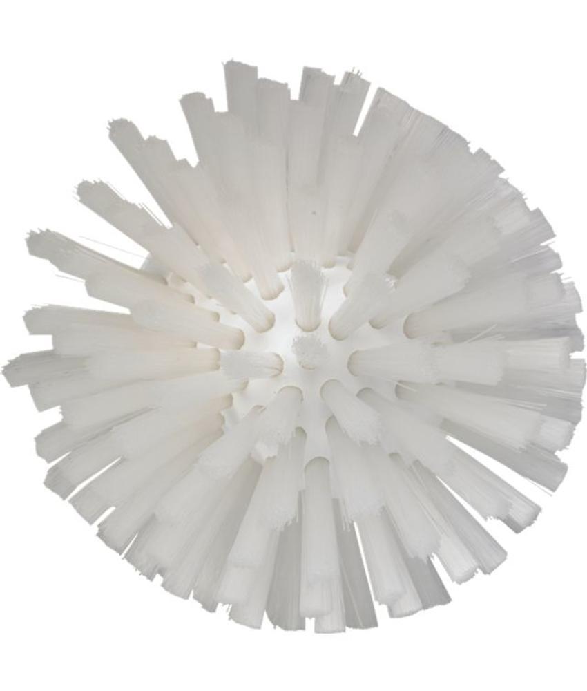 Vikan, Wormhuisborstelkop, medium Ø135x130mm, wit