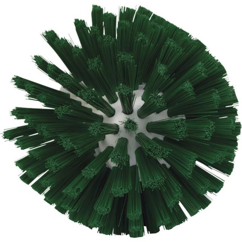 Vikan, Wormhuisborstelkop, medium Ø135x130mm, groen