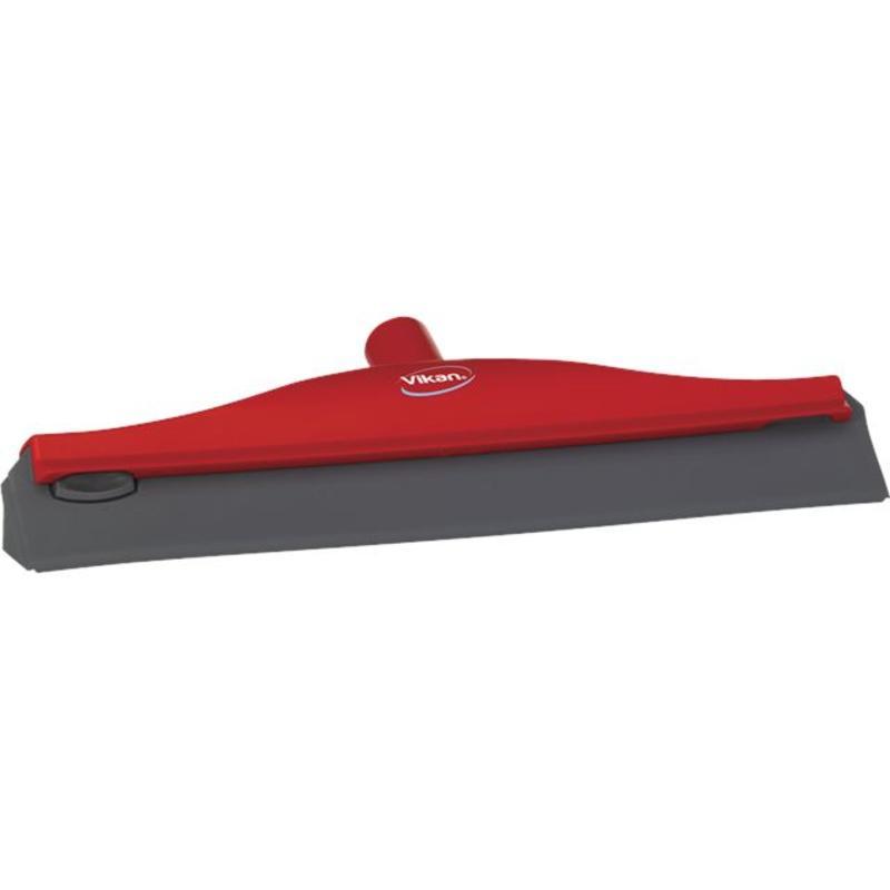 Vikan, Condenstrekker, stevig rubber, 40cm, rood