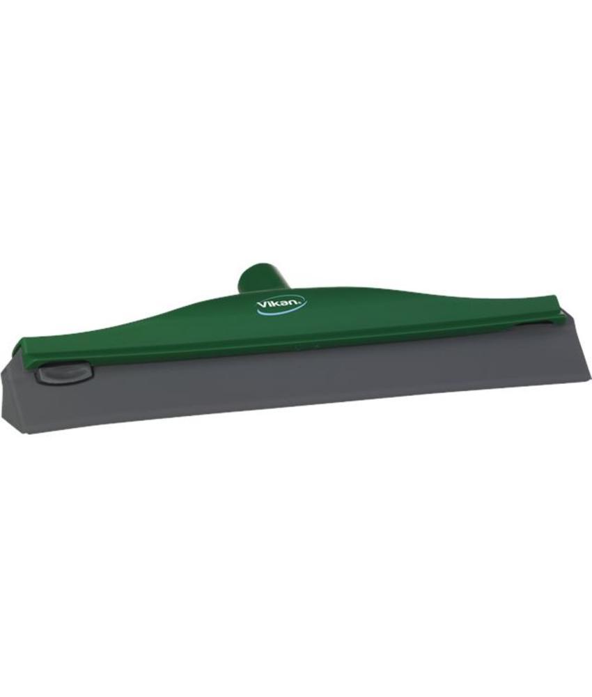 Vikan, Condenstrekker, stevig rubber, 40cm, groen