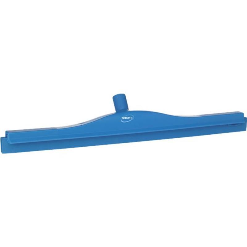 Vikan, Full colour hygiëne vloertrekker, flexibele nek, 60cm, blauw