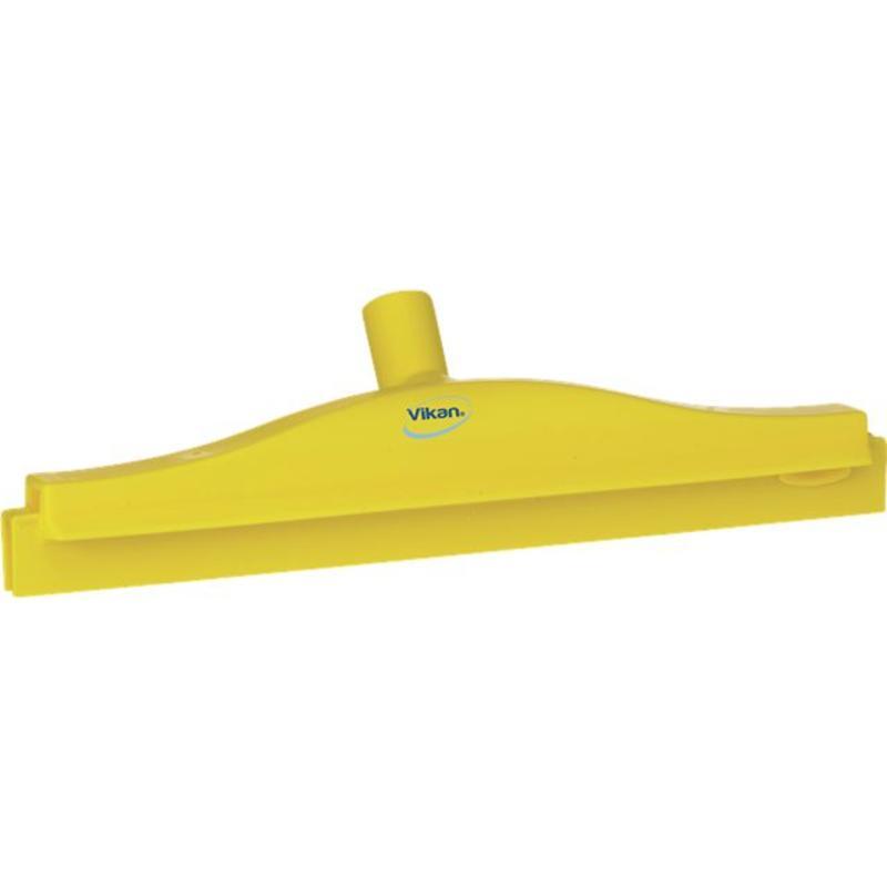 Vikan, Full colour hygiëne vloertrekker, flexibele nek, 40cm, geel