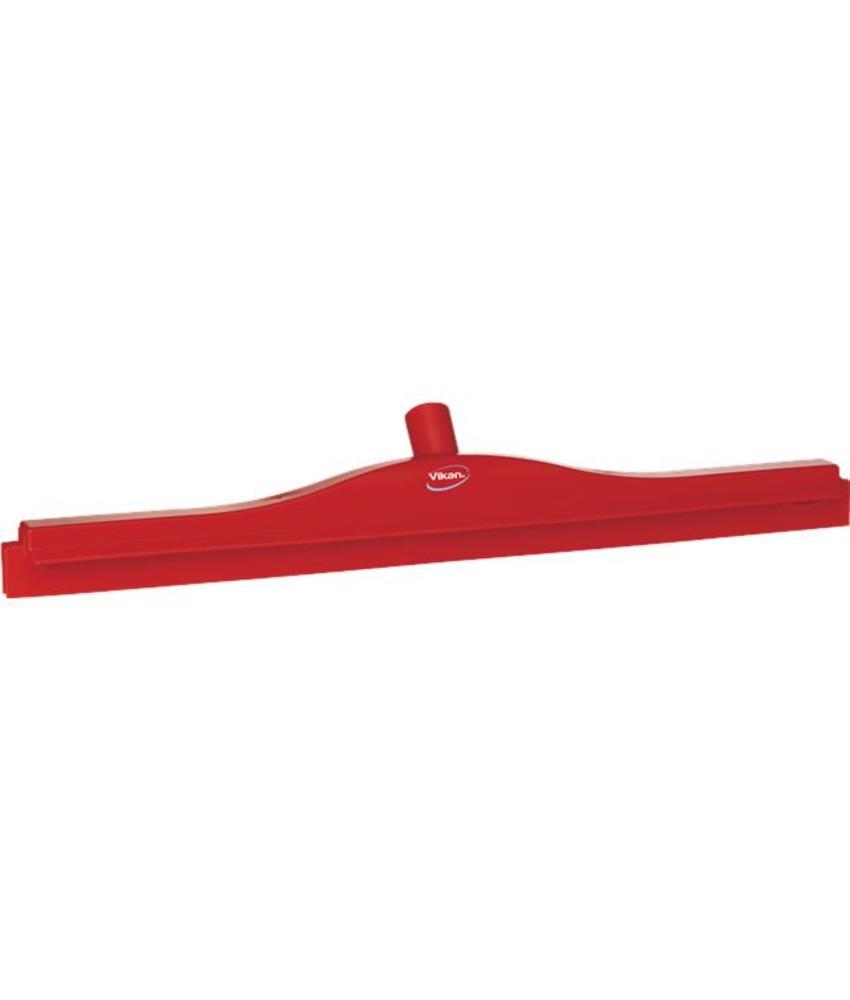 Vikan, Full colour hygiëne vloertrekker, vaste nek, 60 cm breed, rood