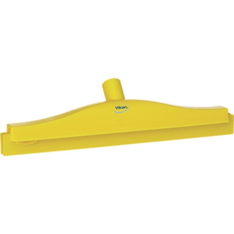 Vikan, Full colour hygiëne vloertrekker, vaste nek,40 cm breed, geel