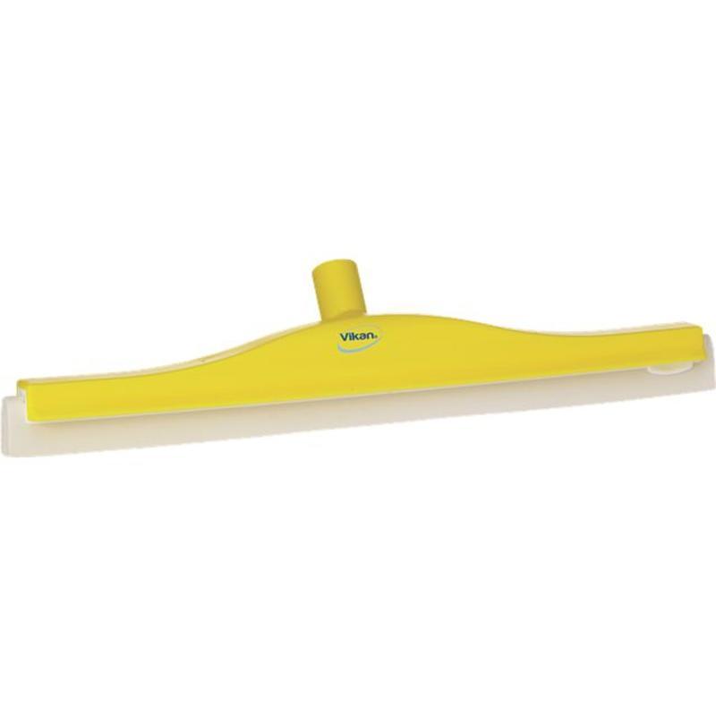 Vikan, Klassieke vloertrekker, flexibele nek, 50cm geel