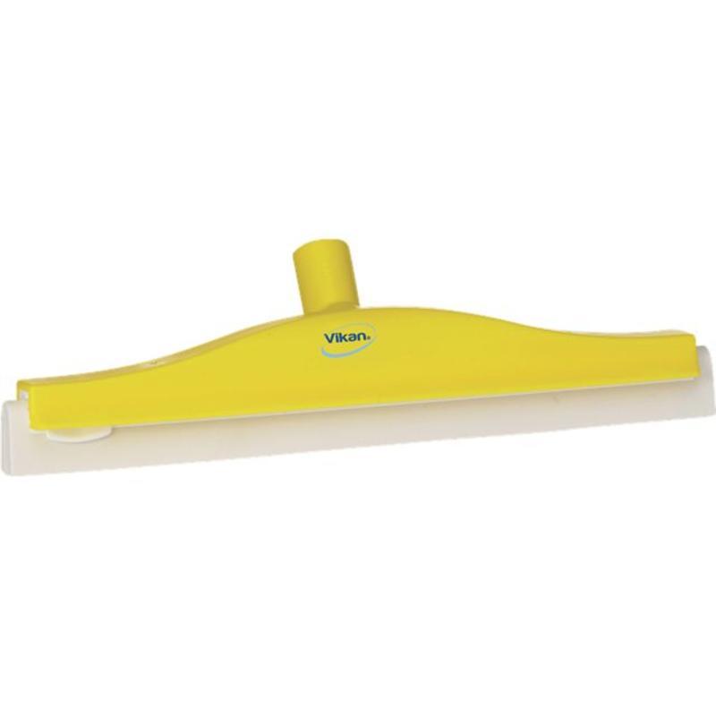 Vikan, Klassieke vloertrekker, flexibele nek, 40cm geel