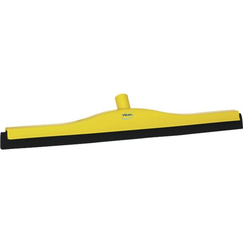 Vikan, Klassieke vloertrekker, vaste nek, 60cm, geel