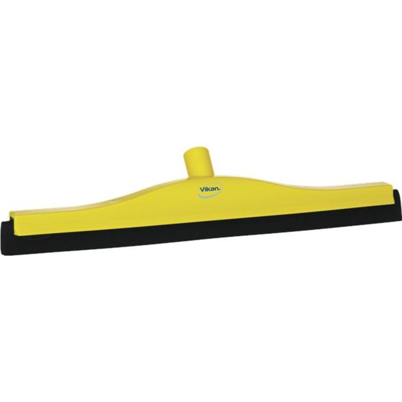 Vikan, Klassieke vloertrekker, vaste nek, 50cm, geel