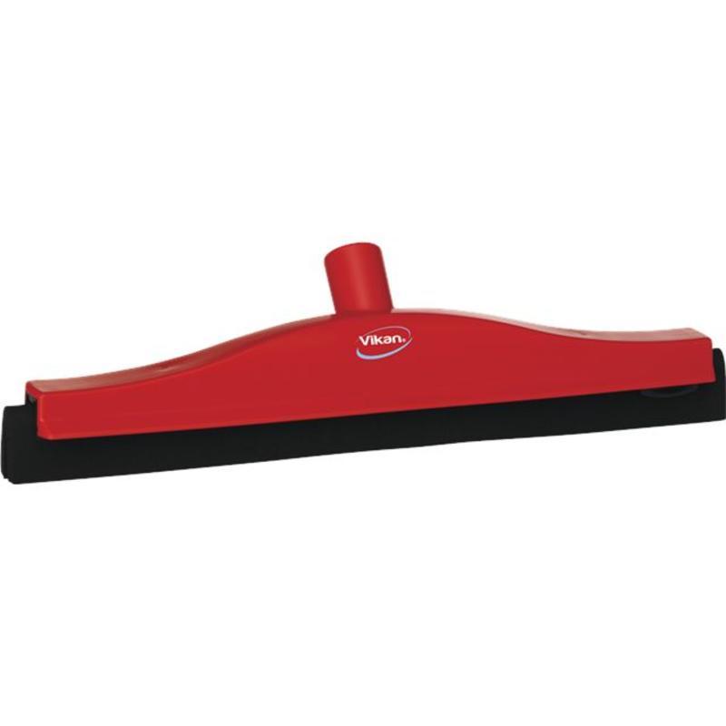 Vikan, Klassieke vloertrekker, vaste nek, 40cm, rood