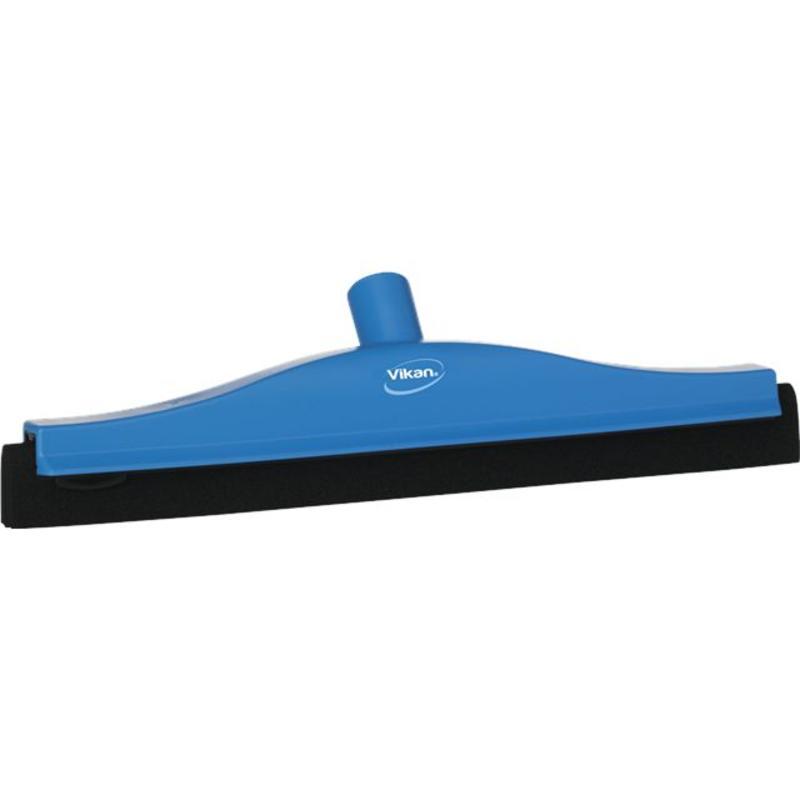 Vikan, Klassieke vloertrekker, vaste nek, 40cm, blauw