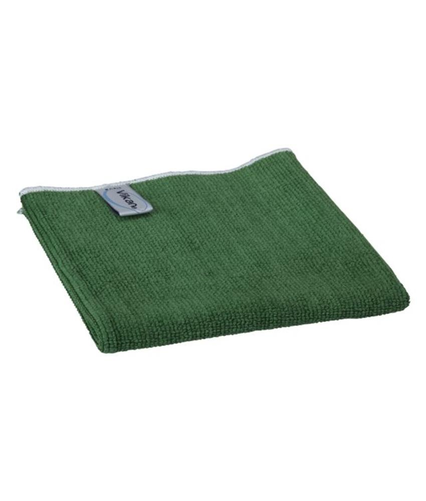 Vikan, Microvezeldoek BASIC 32, 320x320mm, groen