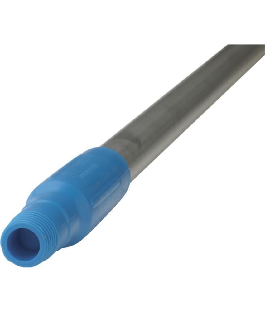 Vikan, Ergonomische aluminium steel 150cm, blauw
