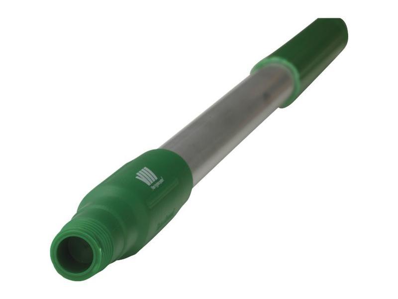 Vikan Vikan, Ergonomische aluminium steel, kort, 650xØ31mm, groen
