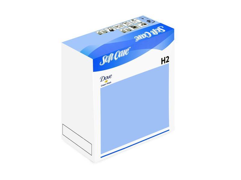 Johnson Diversey Soft Care Dove Cream Wash H2 - 800ml