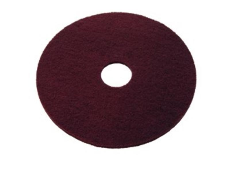 Wecoline Maroon Chemical Free Stripping Pad 16""